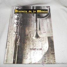 Libros de segunda mano: HISTORIA DE LA MUSICA DE LA COMUNIDAD VALENCIANA - LIBRO COMPLETO Y ENCUADERNADO DIARIO INFORMACION. Lote 37108569