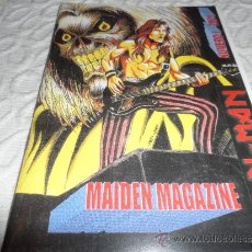 Libros de segunda mano: IRON MAIDEN MAGAZINE Nº1 2001 METALLICA AC DC MANOWAR DIO UDO. Lote 37622752