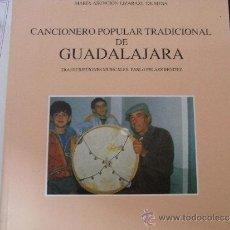 Libros de segunda mano: CANCIONERO POPULAR TRADICIONAL DE GUADALAJARA. (3 VOLS.). Lote 39047282