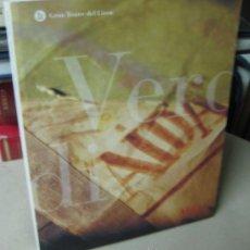 Libros de segunda mano: AIDA. VERDI. GRAN TEATRO DEL LICEO. Lote 39108279