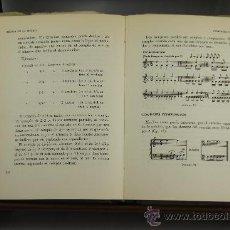 Libros de segunda mano: 3800- INVITACION A LA MUSICA. ORIOL LLIMONA. EDIT. GRAFOS. 1958.. Lote 39147362