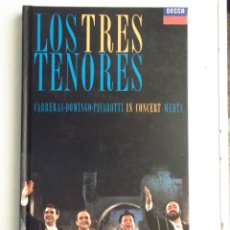 Second hand books - Los Tres Tenores. Carreras, Domingo, Pavarotti In Concert Mehta. - 39798628