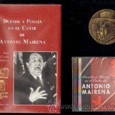 Libros de segunda mano: DUENDE Y POESIA EN EL CANTE DE ANTONIO MAIRENA DENTRO DE ESTUCHE CON CD Y MEDALLA. FL-183. Lote 266741273