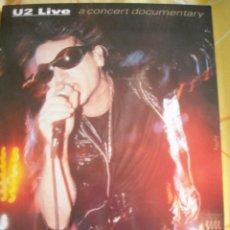 Libros de segunda mano: U2 LIVE: A CONCERT DOCUMENTARY - PIMM JAL DE LA PARRA, 1994. Lote 40215941