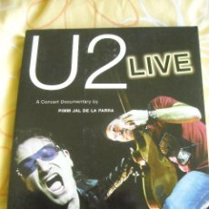 Libros de segunda mano: U2 LIVE: A CONCERT DOCUMENTARY - PIMM JAL DE LA PARRA, 2003. Lote 40216247