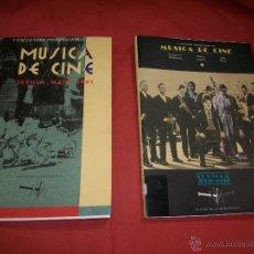 Libros de segunda mano: V Y VI ENCUENTRO INTERNACIONAL DE MÚSICA DE CINE. Lote 40270020