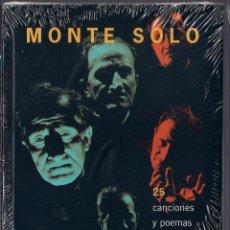 Libros de segunda mano: MONTE SOLO - 25 CANCIONES DE LA O.P.I. NIKÉ. LIBRO + CD 2003 PRODUCCIONES SIN/CON PASIONES NUEVO. Lote 131917287
