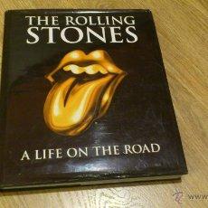 Libros de segunda mano: THE ROLLING STONES A LIFE ON THE ROAD LIBRO EN INGLES. Lote 40547715