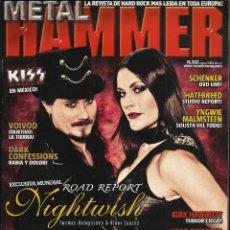 Libros de segunda mano: REVISTAS METAL + METAL HAMMER. 2 X 6 €. Lote 41435350