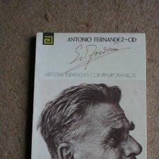 Libros de segunda mano: EDUARDO TOLDRÁ. ARTISTAS ESPAÑOLES CONTEMPORÁNEOS. FERNÁNDEZ-CID (ANTONIO). Lote 41439020