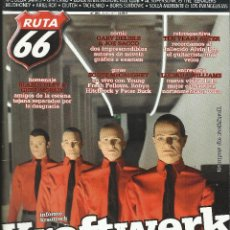 Libros de segunda mano: REVISTA RUTA 66. DICIEMBRE'2011- NOVIEMBRE 2013. 2 X 6 €. Lote 207238527