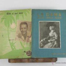 Libros de segunda mano: D-383. LOTE DE 9 LIBRETOS DE MUSICA VARIOS AUTORES. AÑOS 40.. Lote 42954267