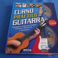 Libros de segunda mano - CURSO PRACTICO DE GUITARRA (A ESTRENAR) INCLUYE 2 CD´S - 43578942
