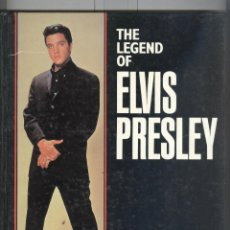 Libros de segunda mano: THE LEGEND OF ELVIS PRESLEY. TRASURE PRESS. EDICIÓN INGLESA. TAPA DURA. Lote 43874234