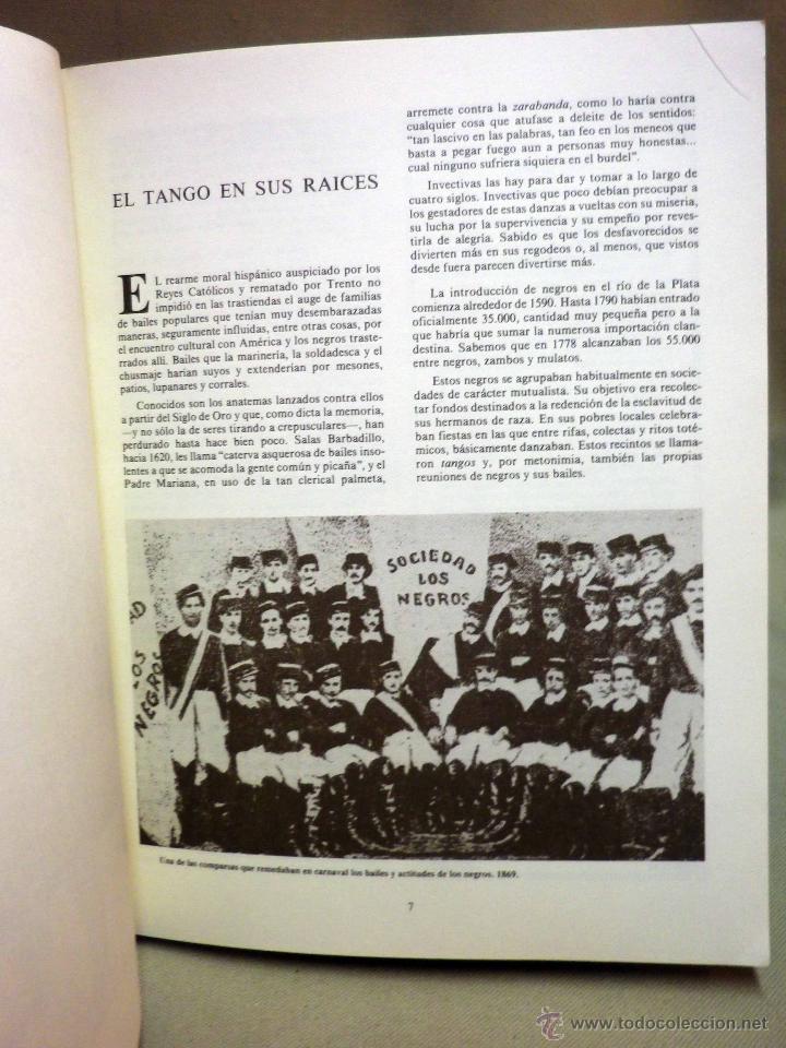 Libros de segunda mano: LIBRO, ALMA DE BOHEMIO, JAVIER BARREIRO, EL TANGO HASTA GARDEL, 1977, ROBERTO FIRPO - Foto 3 - 44137912
