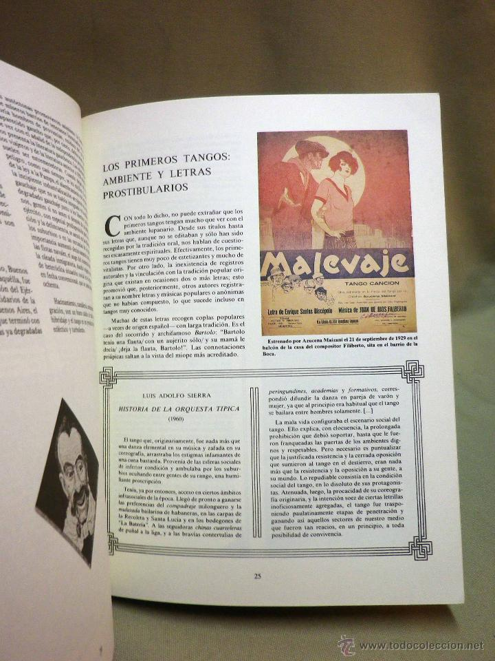 Libros de segunda mano: LIBRO, ALMA DE BOHEMIO, JAVIER BARREIRO, EL TANGO HASTA GARDEL, 1977, ROBERTO FIRPO - Foto 5 - 44137912