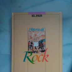 Libros de segunda mano: HISTORIA DEL ROCK, EL PAIS. TAPA DURA ENCUADERNADO. COMPLETO. Lote 44450101