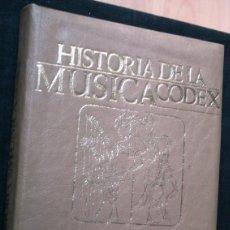 Libros de segunda mano: HISTORIA MUSICA - ORIGENES - MUY ILUSTRADO -. Lote 45262657