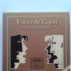 Libros de segunda mano: VOCES DE GIJON - ARTURO REVERTER, ANA CRISTINA TOLIVAR, CARLOS JOSE MARTINEZ - INCLUYE 2 CD´S. Lote 45327986