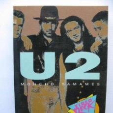 Libros de segunda mano: U2. MONCHO TAMAMES. VIDEO ROCK. SALVAT. 1990. Lote 49642960