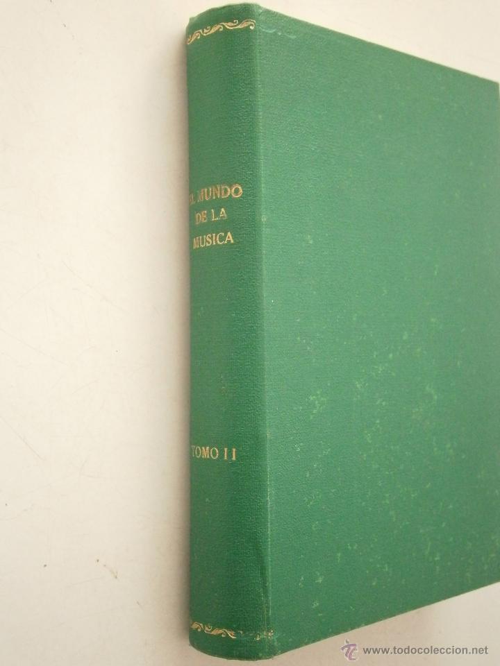 EL MUNDO DE LA MUSICA TOMO II RAREZA (Libros de Segunda Mano - Bellas artes, ocio y coleccionismo - Música)