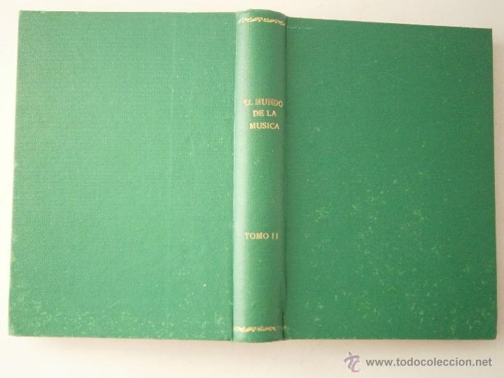 Libros de segunda mano: El mundo de la musica tomo II RAREZA - Foto 3 - 46613673