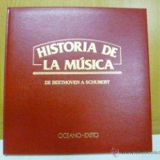Libros de segunda mano: HISTORIA DE LA MÚSICA. BEETHOVEN A SCHUBERT ED. OCEANO - EXITO. 1978.. Lote 47007845