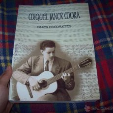 Libros de segunda mano: MIQUEL JANER MORA.OBRES COMPLETES. AJUNTAMENT DE LLUCMAJOR.2001.LLIBRE MOLT CERCAT. MALLORCA .. Lote 48210788