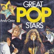 Libros de segunda mano: GREAT POP SATRS ANDY GRAY. Lote 48428040
