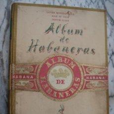 Libros de segunda mano: ALBUM DE HABANERAS. EDITORIAL BARNA ; 1948 - EJEMPLAR Nº 18 DE 480.. Lote 48588697