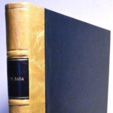 Libros de segunda mano: SADA (JAVIER). DOS SIGLOS DE TAMBORRADA. 1977. PRECIOSA ENCUADERNACIÓN. Lote 48743477