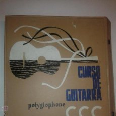Libros de segunda mano: CURSO DE GUITARRA CCC POLYGLOPHONE SISTEMA CIFRADO SIN SOLFEO 1958 M. TORNER 8 LIBROS Y 4 DISCOS. Lote 49433735