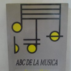 Libros de segunda mano: ABC DE LA MÚSICA. IMOGEN HOLST. TAURUS. Lote 50061425