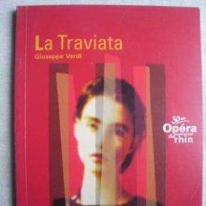 Libros de segunda mano: LA TRAVIATA. VERDI, GIUSEPPE. Lote 50393503