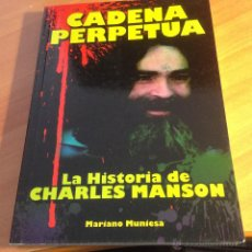 Libros de segunda mano: LA HISTORIA DE CHARLES MANSON. CADENA PERPETUA (MUNIESA) MUCHAS FOTOS (LB29). Lote 109547524