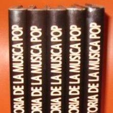 Libros de segunda mano: VV.AA. HISTORIA DE LA MÚSICA POP. CINCO TOMOS. RM71302. . Lote 51712419