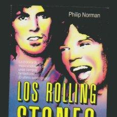 Libros de segunda mano: PHILIP NORMAN.THE ROLLING STONES.. Lote 52855441