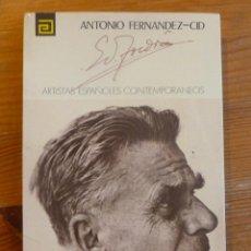 Libros de segunda mano: EDUARDO TOLDRA. ANTONIO FDEZ-CID. ARTISTAS ESPAÑOLES CONTEMPORANEOS. 1977. Lote 52931809