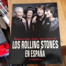 Libros de segunda mano: LOS ROLLING STONES EN ESPAÑA (MARIANO MUNIESA ) TAPA DURA 32 X 25 CM (LB21). Lote 52972015