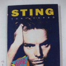 Libros de segunda mano: STING - TONI CARBO - VIDEO ROCK SALVAT. Lote 53087704