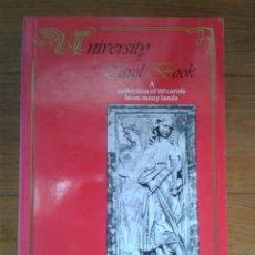 Libros de segunda mano: UNIVERSITY CAROL BOOK. A COLLECTION OF 217 CAROLS FROM MANY LANDS, FOR ALL SEASONS.. Lote 53118100