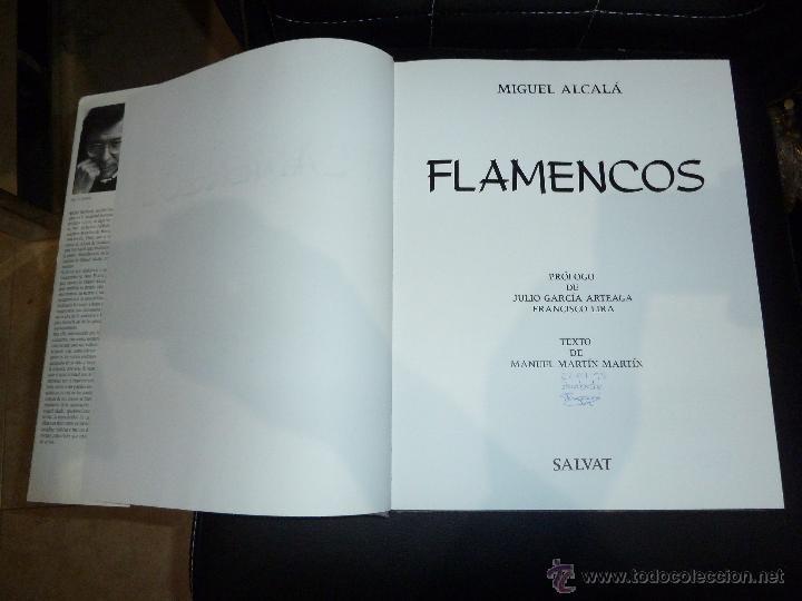 Libros de segunda mano: FLAMENCOS DE MIGUEL ALCALA EDITORIAL SALVAT FLAMENCO - Foto 3 - 53210766