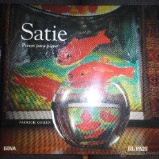 Libros de segunda mano: SATIE PIEZAS PARA PIANO PATRICK COHEN. Lote 53582725
