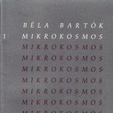 Libros de segunda mano: BÊLA BARTÓK. MIKROKOSMOS. PIEZAS PROGRESIVAS PARA PIANO. BOOSEY & HAWKES.. Lote 53589555