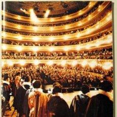 Libros de segunda mano: GRAN TEATRO DEL LICEO. TEMPORADA DE ÓPERA 1979-80. LA BOHEME (PUCCINI). MADAMA BUTTERFLY (PUCCINI).. Lote 29458682