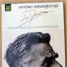 Libros de segunda mano: ARTISTAS ESPAÑOLES CONTEMPORANEO,EDUARDO TOLDRA,ANTONIO FERNANDEZ-CID. Lote 55053963