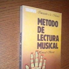 Libros de segunda mano: METODO DE LECTURA MUSICAL / HOWARD SHANET. Lote 55086884
