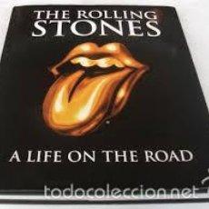 Libros de segunda mano: THE ROLLING STONES A LIFE ON THE ROAD,EN INGLES,MUCHAS FOTOS,. Lote 55166797