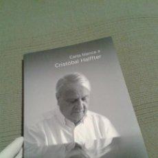 Libros de segunda mano: CARTA BLANCA A CRISTOBAL HALFFTER. OCNE. TEMPORADA 2009-2010. ARTÍCULOS Y NOTAS A LOS PROGRAMAS.. Lote 56051057