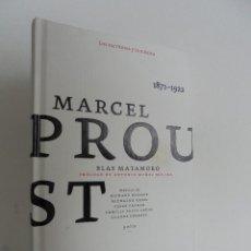 Libros de segunda mano: MARCEL PROUST. LOS ESCRITORES Y LA MUSICA. EDICIONES SINGULARES 2008. CON CD. BLAS MATAMORO.. Lote 56163151